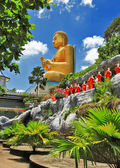Temple in Dambulla Sri lanka — Stock Photo