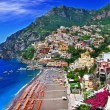 Stunning Amalfi coast. Positano — Stock Photo