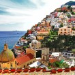 Royalty-Free Stock Photo: Pictorial Amalfitana coast - Positano