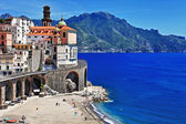 Stunning Amalfi coast - Atrani. Italy — Stock Photo