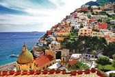 Pictorial Amalfitana coast - Positano — Stock Photo