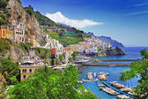 Beautiful Amalfi coast — 图库照片