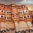 Landmarks of Rajastan. Jodhpur - Stock Photo