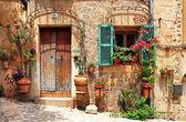 Staré kouzelnými uličkami, španělsko — Stock fotografie