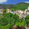 Bella Italia series. Corniglia village. Cinque terre - Stock Photo
