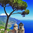 Beautiful Amalfi coast - Ravello - Stock Photo