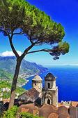 Costa de amalfi linda - ravello — Foto Stock