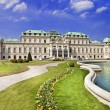 Beautiful Belvedere castle, Vienna — Stok Fotoğraf #24915085