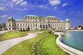 Beautiful Belvedere castle, Vienna — Stock Photo