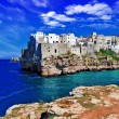 Polignano al mare, Puglia, Italy - Stock Photo