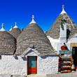 Alberobello town, Italy — Stock Photo #25987105