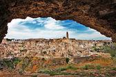 Matera - ancient city of Italy — Stock Photo