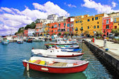 Colors of Italy series - Procida island — Stock Photo