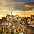 Beautiful Matera - ancient city of Italy — Stock Photo