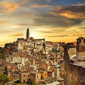Beautiful Matera - ancient city of Italy — Stock Photo