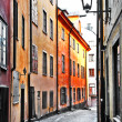 Streets of old town . Stocholm — Stock Photo #26764973