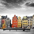 Stockholm, heart of old town,Sweeden - Stock Photo