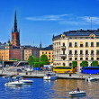 Stockholm. Sweeden — Stock Photo