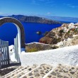 Unique Santorini island — Stock Photo