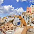 Oia village, Santorini — Stock Photo