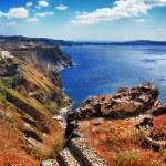 Panorama of Santorini island, Greece — Stock Photo #26765783