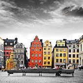 Stockholm, heart of old town,Sweeden — Stock Photo