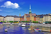 Beautiful Stockholm, Sweeden — Stock Photo