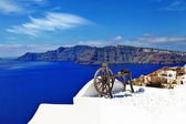Santorini views, Oia village — Stock Photo