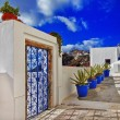 Foto Stock: Santorini. beautiful details