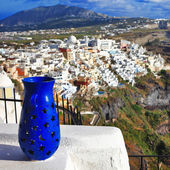 Santorini. beautiful details — Stock Photo
