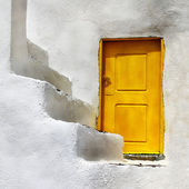 Santorini, unique details. — Stock Photo