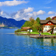 Pictorial austrian lakes- st.Wolfgang — Stock Photo