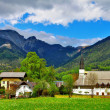 Stock Photo: Scenic Austrivillages