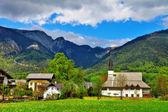 Scenic Austrian villages — Stock Photo