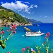 Italian holidays- Monterosso al mare — Stock Photo