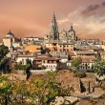 Toledo - medieval city of Spain — Stock Photo