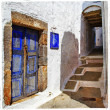Stock Photo: Traditional Greek islands streets, Patmos