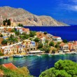Stock Photo: Wonderful Greece. Symi island , Dodecanese