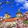 Stock Photo: Benedictine abbey in Melk, Austria