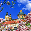 Benedictine abbey in Melk, Austria — Stock Photo
