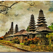 Mysterious Bali. artwork in painting style — Stock Photo