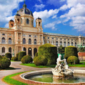 Viena, parques — Foto Stock
