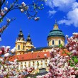 Benedictine abbey in Melk, Austria — Stock Photo #30390171