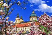 Benedictine abbey in Melk, Austria — Stock Photo