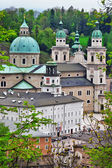Churches in old town in Salzburg, Austria — Stock Photo