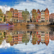 Beautiful Amsterdam, Holland — Stock fotografie