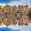 Beautiful Amsterdam, Holland — Foto de Stock