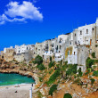 Polignano al mare - scenic small town in Puglia, Italy — Stock Photo