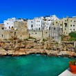 Scenic Italy series - Polignano al mare, Apulia — Stock Photo