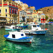 Colorful Greece series Symi island, Dodecanes — Stock Photo